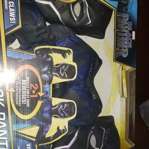 Black panther Masks and 2 in 1 muscle shirt